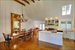 Sag Harbor, Great room/kitchen with soaring ceilings