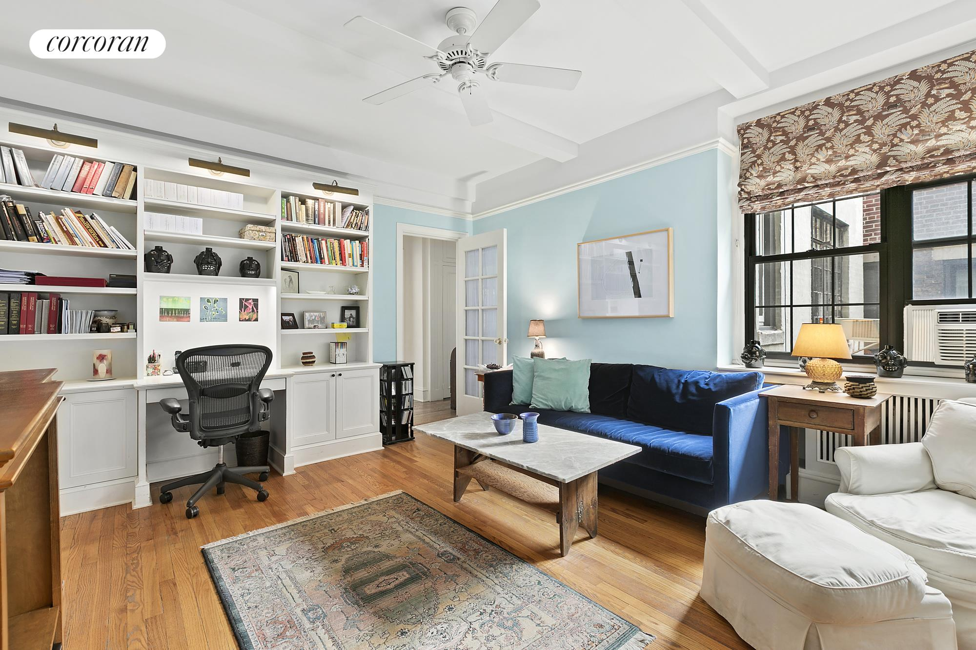 210 West 78th Street, 6AB, Living Room view 2