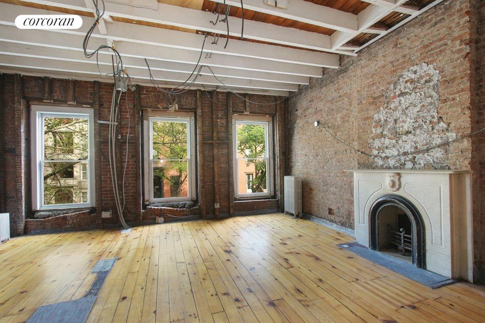 New York City Real Estate | View 22 Strong Place | Third floor full width bedroom