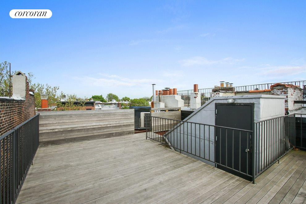 New York City Real Estate | View 22 Strong Place | Ipe roof deck