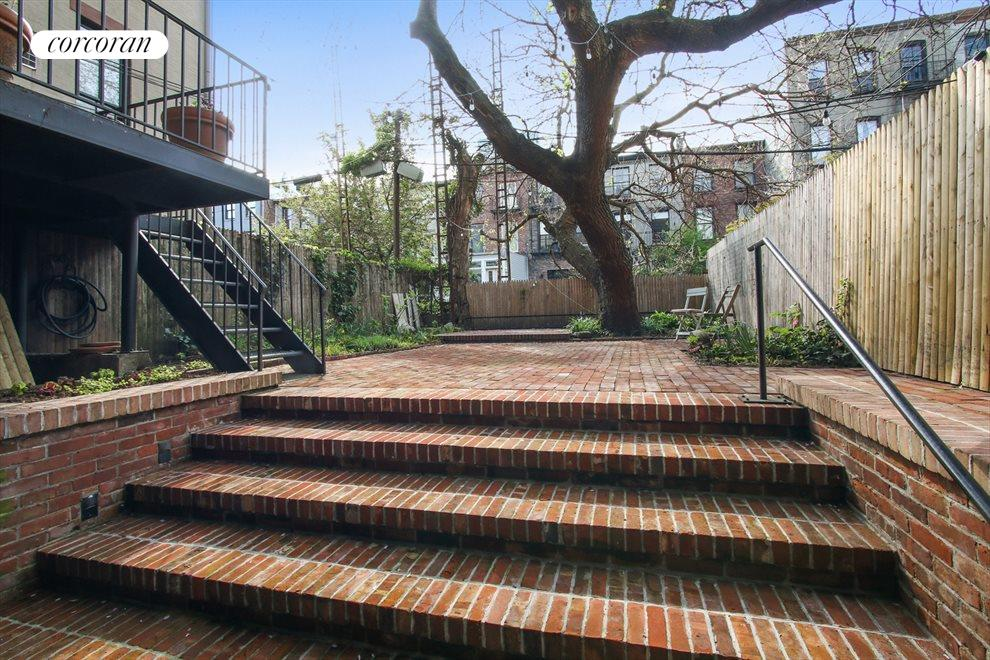 New York City Real Estate | View 22 Strong Place | Garden access from first floor