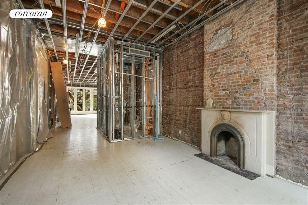 New York City Real Estate | View 22 Strong Place | Parlor floor view from front to back