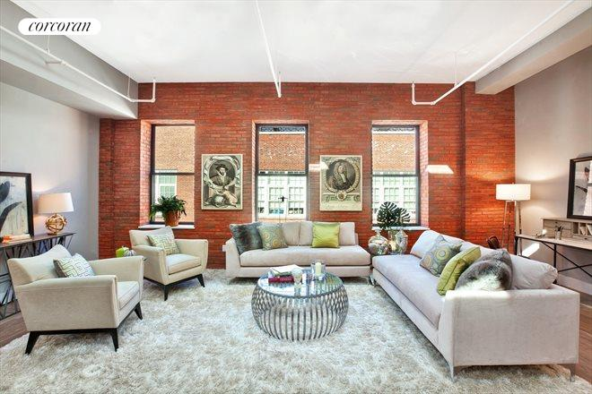 133 MULBERRY ST, 5D, Living Room