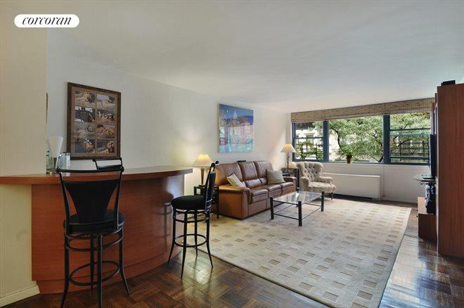 420 East 51, 5H, Spacious Living Room