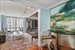 30 West Street, 18DE, 3rd Bedroom/Library and Bar