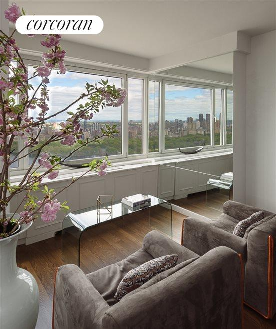 Seating Area with View of Central Park