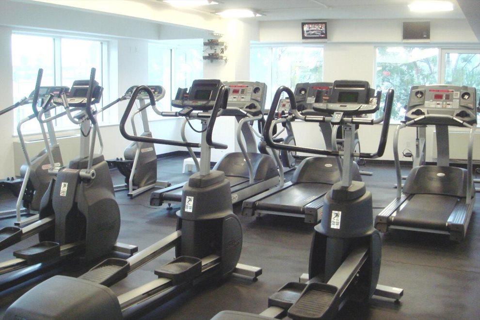 Windowed Exercise Facility