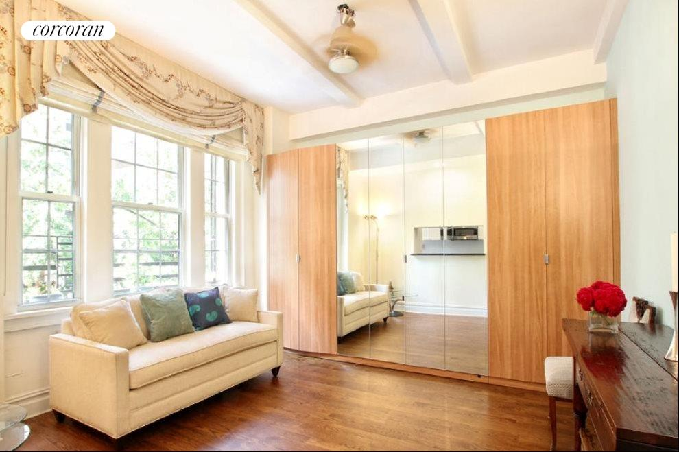 Living Room & Sleeping Area