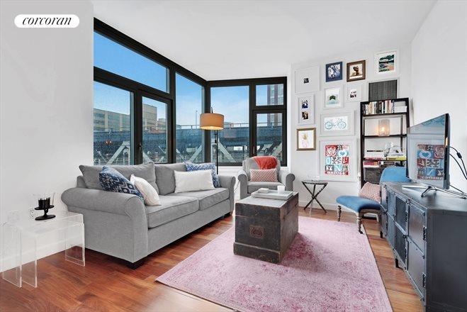 100 Jay Street, 9H, Living Room