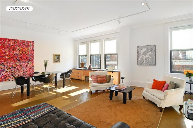 465 West End Avenue, 11C, Living Room
