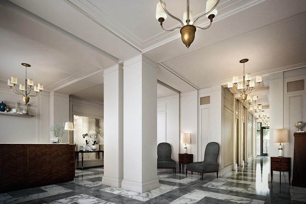 New York City Real Estate | View 150 West 12th Street, #7 W | 24-hour attended lobby w/ access to private garden