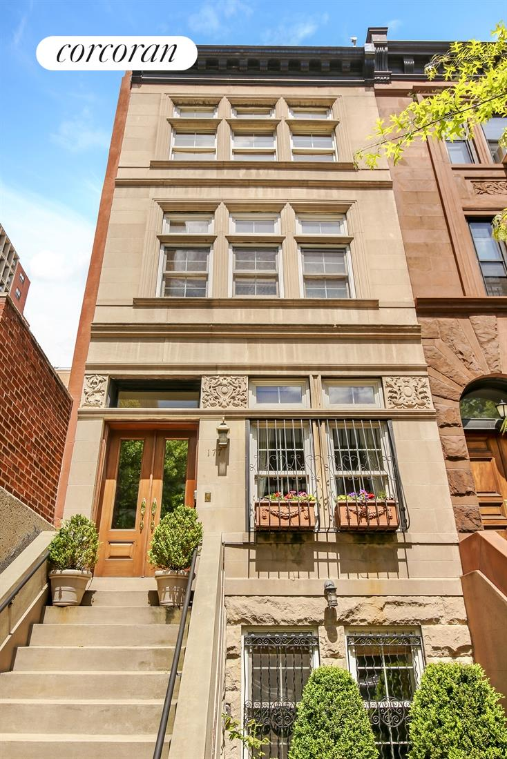 Corcoran 177 west 88th street upper west side real for Upper west side townhouse for sale