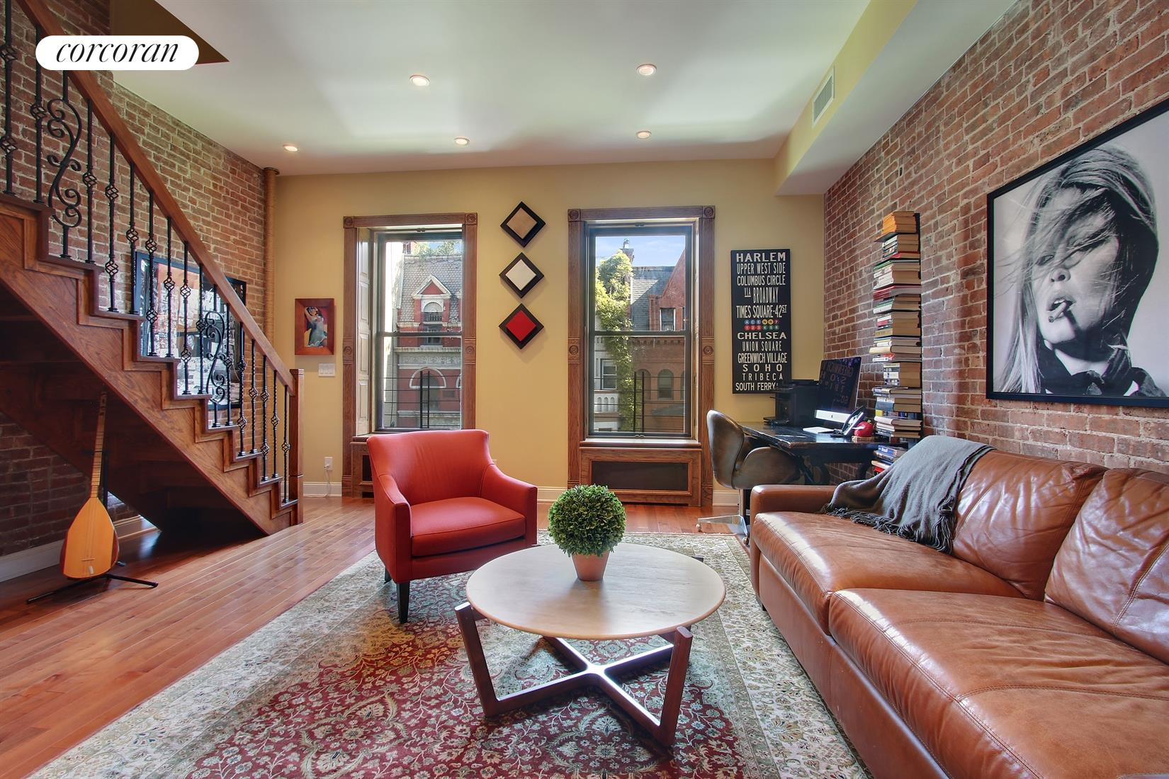 134 West 81st Street, 3F/4F, Living Room