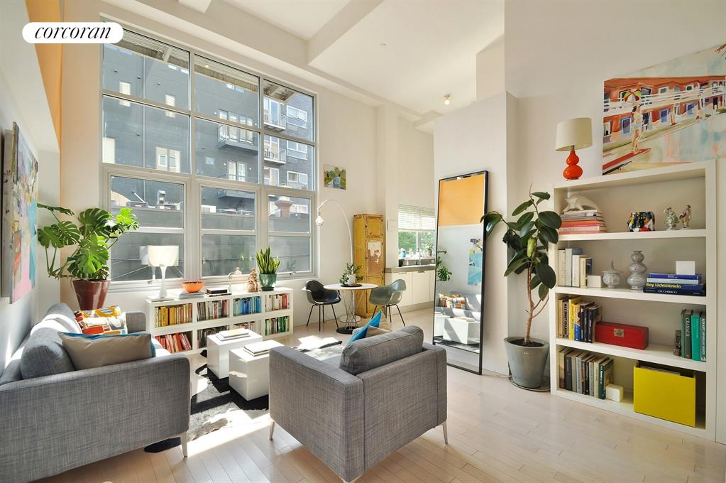 100 North 3rd Street, 2B, Living Room