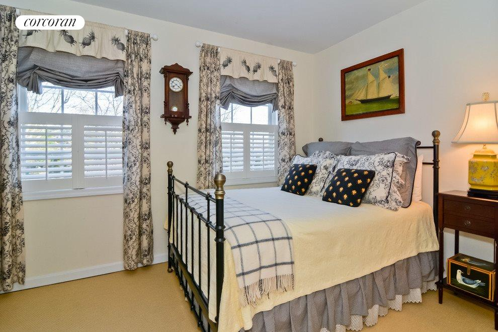 Sunny guest bedroom