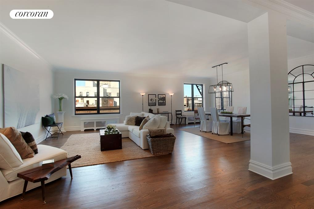 225 Eastern Parkway, 5A, Generous proportions....