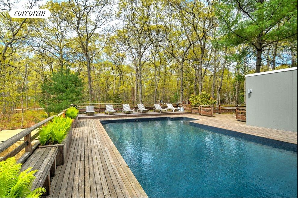 New York City Real Estate | View 18 Shorewood Drive | Heated pool