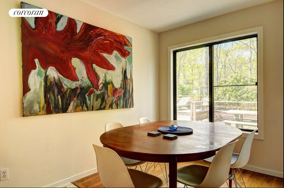 New York City Real Estate | View 18 Shorewood Drive | Dining area