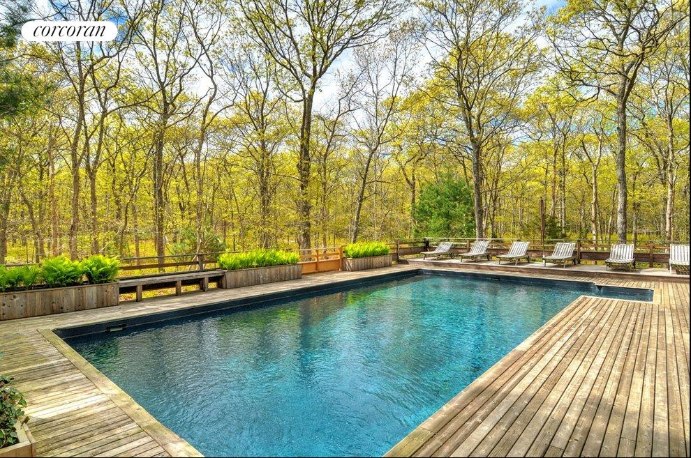 New York City Real Estate | View 18 Shorewood Drive | Private and quiet pool area