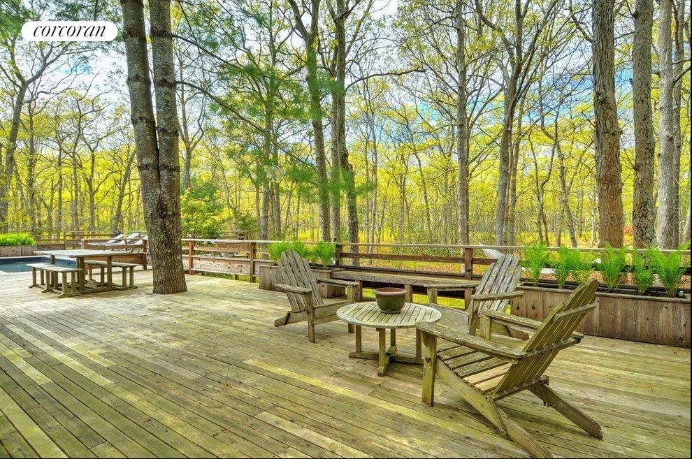 New York City Real Estate | View 18 Shorewood Drive | Entertain!  Deck will hold lots of guests