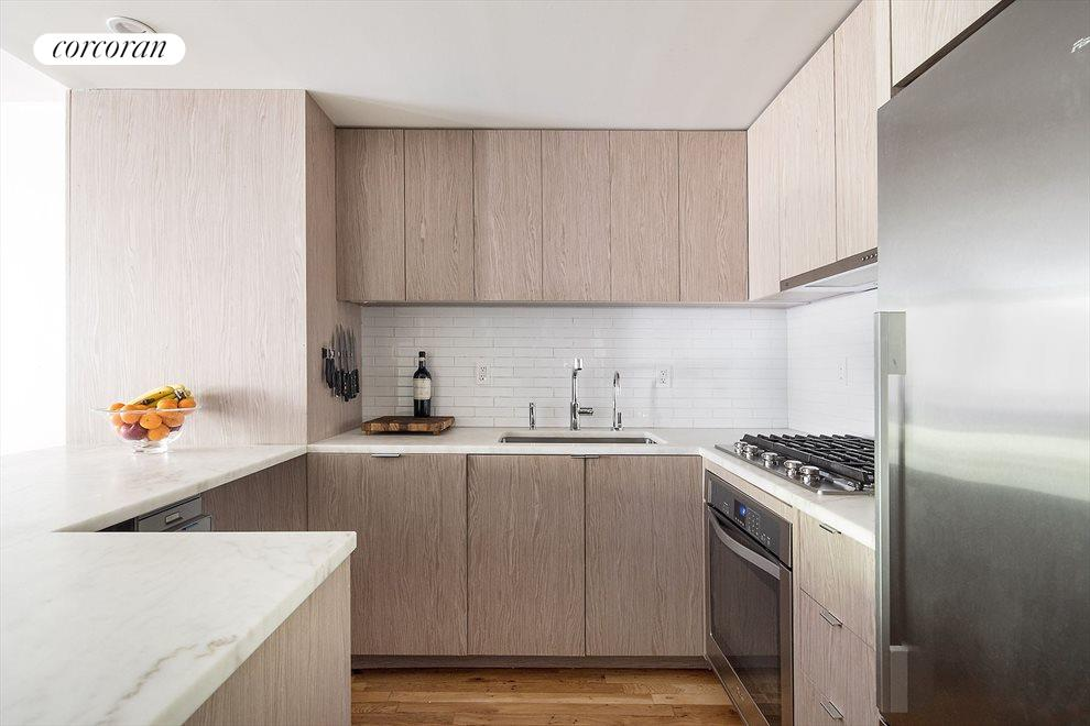 New York City Real Estate | View 233 Court Street, #1 | Brand new open and modern kitchen
