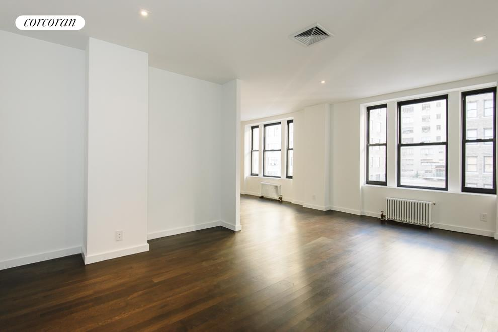 Corcoran 340 west 86th street apt 7b upper west side for Living room 86th st