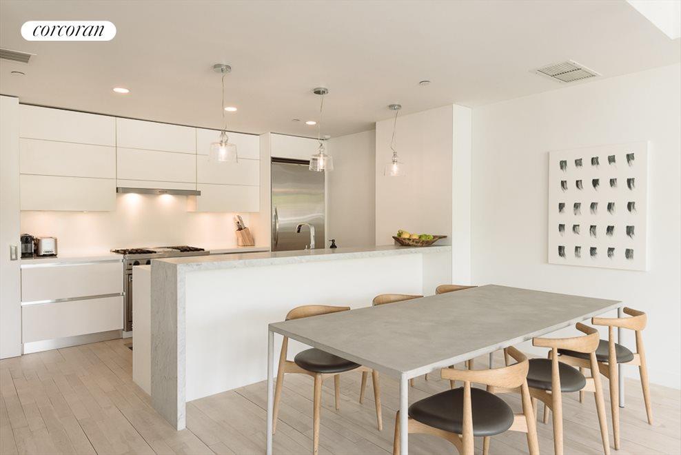 Custom Open Kitchen with Breakfast Counter
