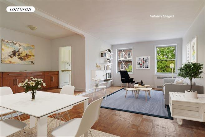 1825 Foster Avenue, 3G, Huge, Sunny Living Room W/room For Dining
