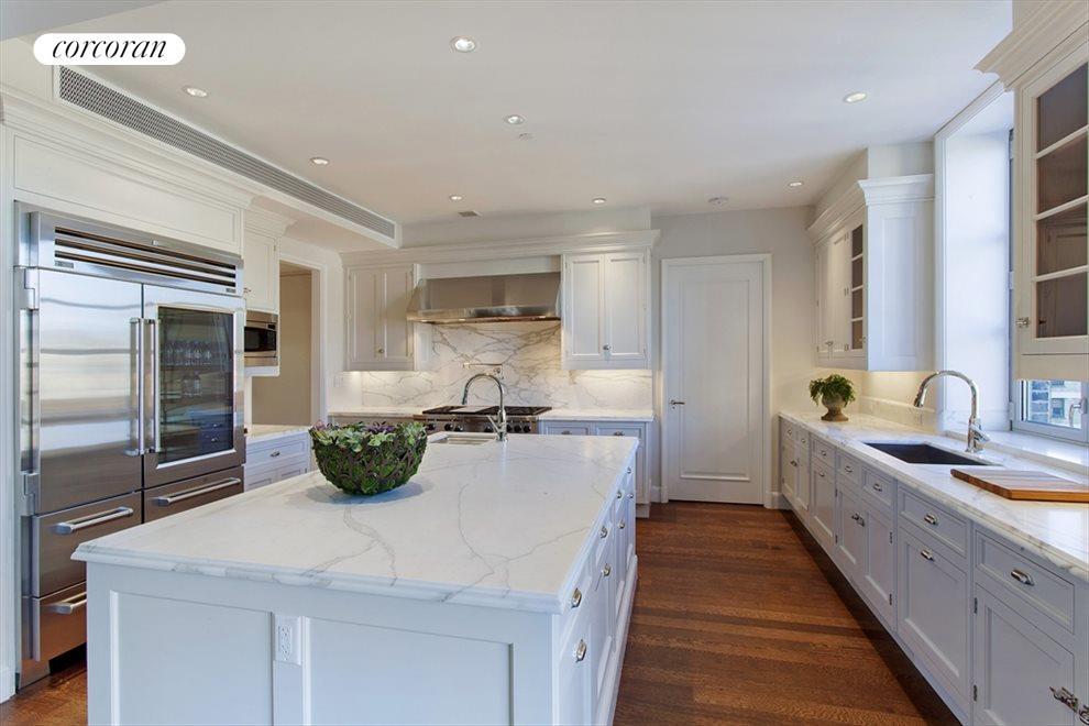 Windowed Kitchen with Custom Fixtures
