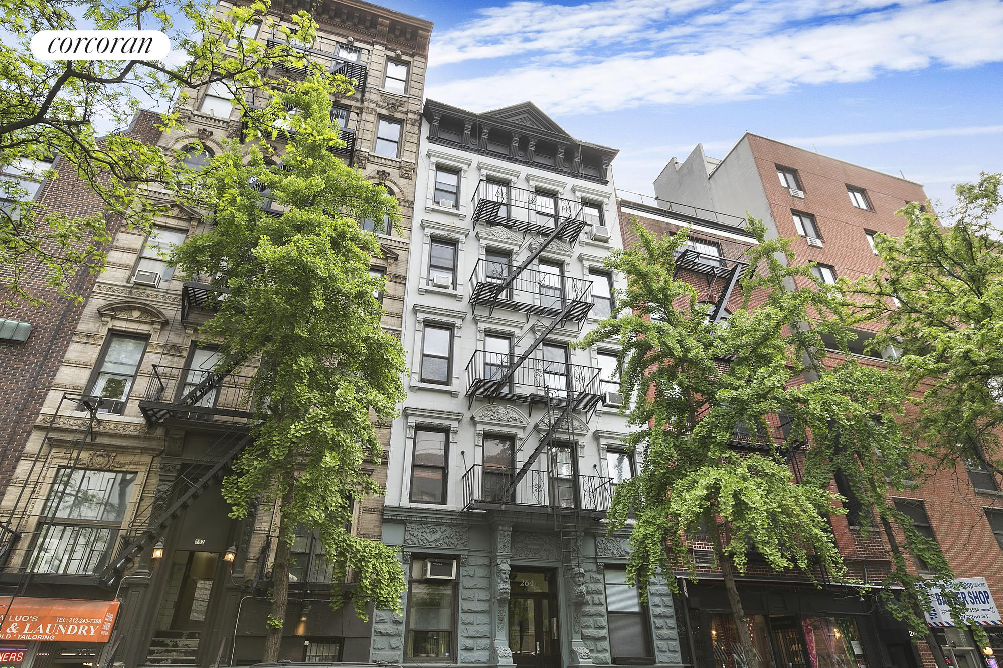 Corcoran 264 west 22nd street apt 10 chelsea hudson for Chelsea nyc apartments for sale