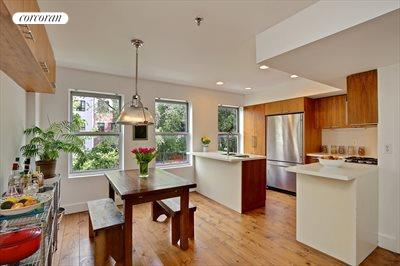 New York City Real Estate | View 345A Grand Avenue, #A | Kitchen / Dining Room