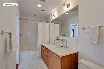 New York City Real Estate | View 345A Grand Avenue, #A | Master Bathroom
