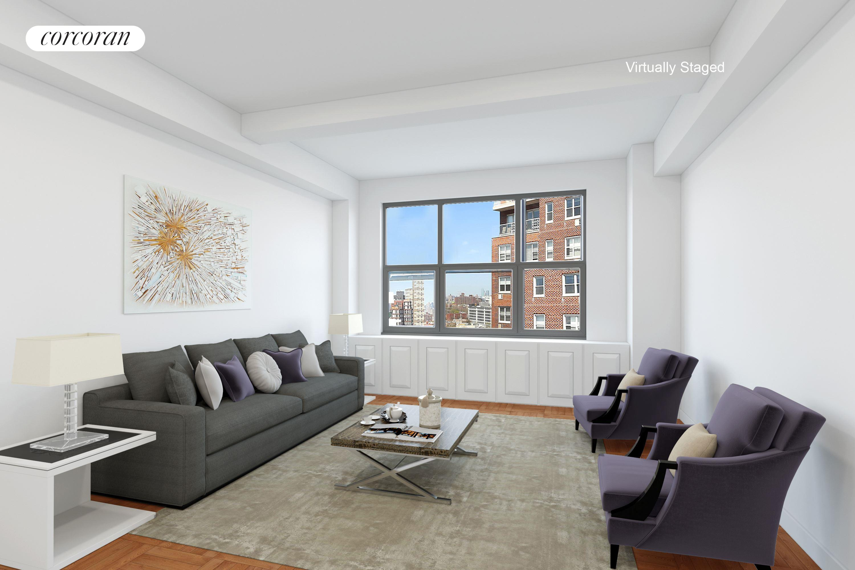 1 Plaza Street West, 11A, Living Room