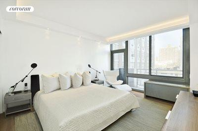 New York City Real Estate | View 225 West 60th Street, 6B | Second Master Bedroom with En-Suite Bath