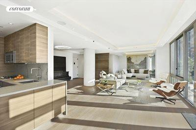 New York City Real Estate | View 225 West 60th Street, 6B | Dining Room and Entertaining Space