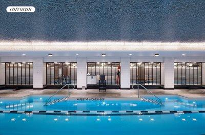 New York City Real Estate | View 141 West 11th Street | 25 meter swimming pool with Jacuzzi