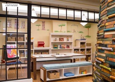 New York City Real Estate | View 141 West 11th Street | Children's Playroom Designed by Roto
