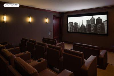 New York City Real Estate | View 141 West 11th Street | Screening Room