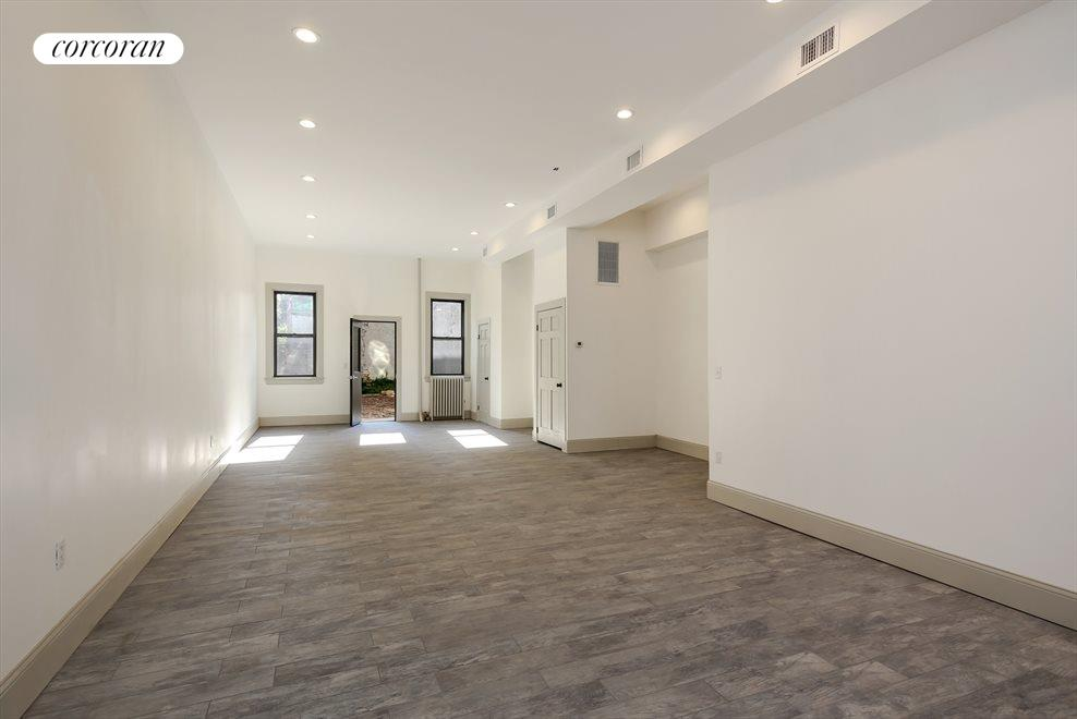 Spacious Storefront with High Ceilings & Basement