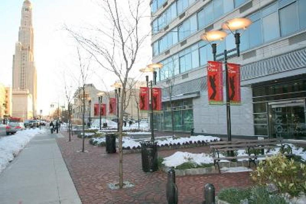 forte's plaza along BAM Cultural District corridor