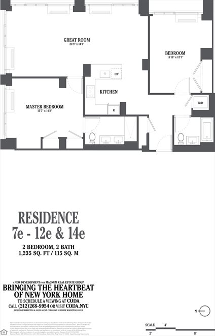 New York City Real Estate | View 385 First Avenue, #12E | Floorplan