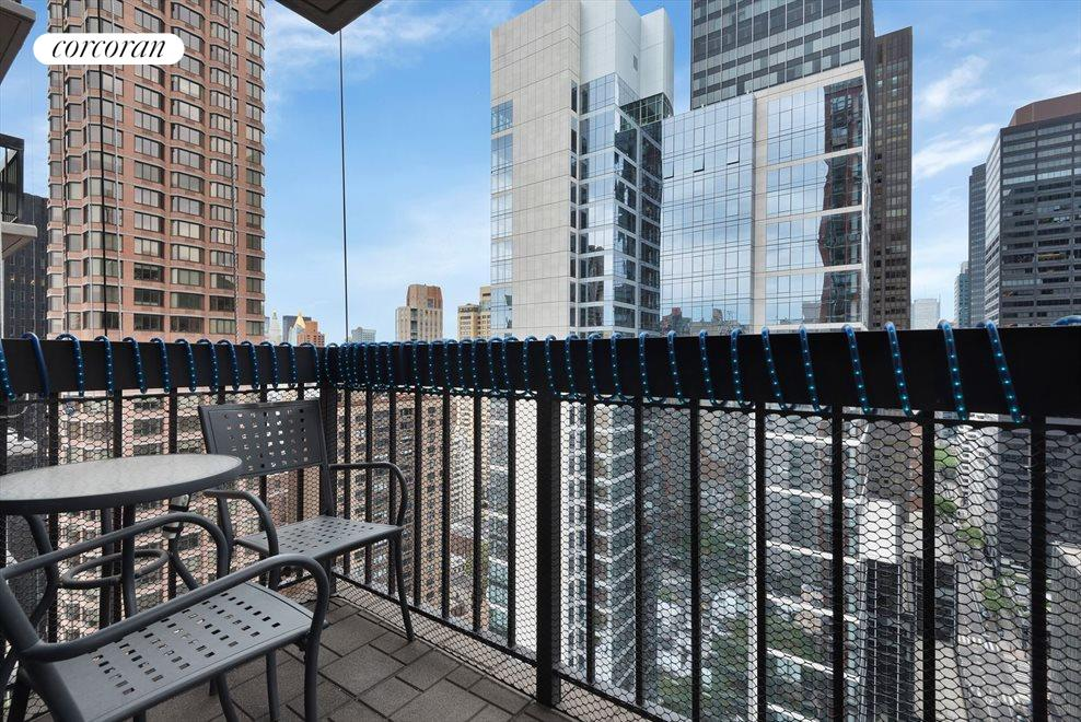 Great Mid-town views from the Balcony!