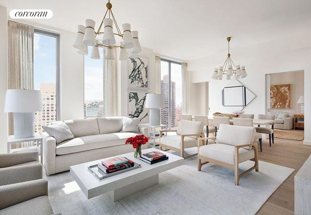 360 East 89th Street, 26A, Living Room