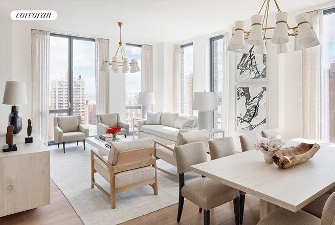360 East 89th Street, 22A, Living Room