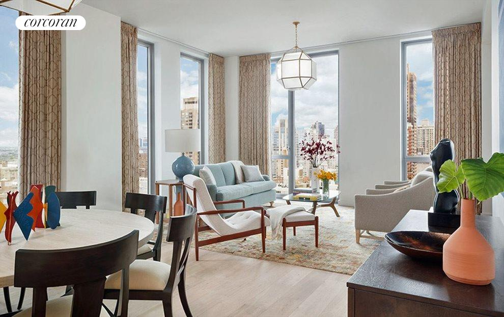 New York City Real Estate | View 360 East 89th Street, #32B | 3 Beds, 3 Baths