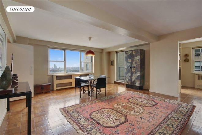 Corcoran 535 east 86th street apt 10j upper east side for Living room 86th street