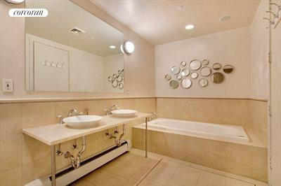 New York City Real Estate | View 532 West 22nd Street, 4C | Master Bathroom