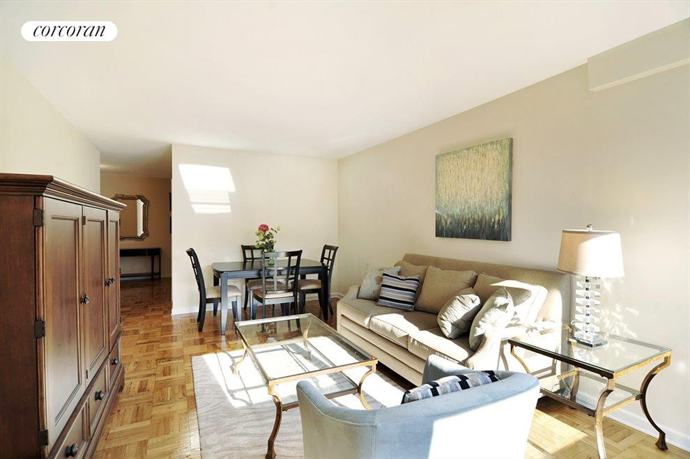 Dining Area in Spacious Living Room