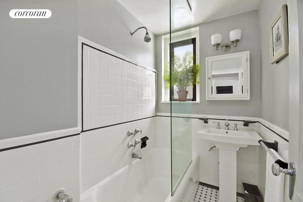 Renovated Bathroom with Window