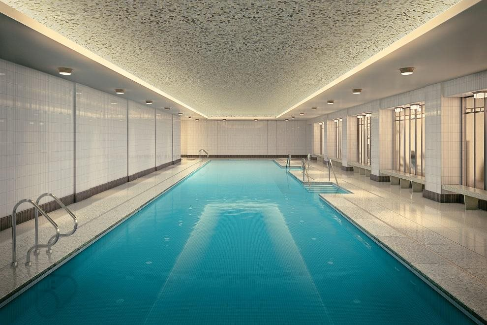 New York City Real Estate | View 160 West 12th Street, #78 | 25-meter swimming pool with Jacuzzi